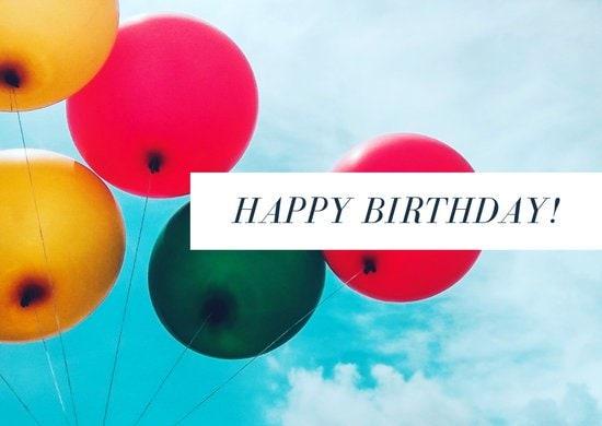 Happy Birthday eCard Sandton SPCA