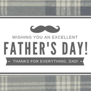 Happy Father's Day eCard Sandton SPCA