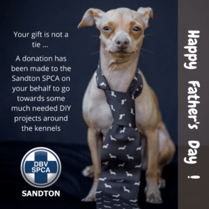 Happy Father's Day Card Sandton SPCA